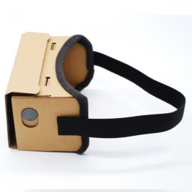 DIY Cardboard 3D VR Glasses for 3.5-5.5 Inch Phones