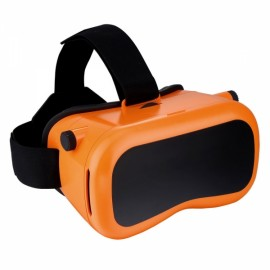 SENKAMA VR Virtual Reality 3D Glasses Orange & Yellow