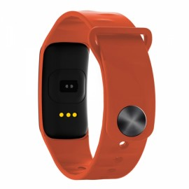 C1 Intelligent Blood Pressure Heart Rate Monitor Fitness Sports Bracelet Orange