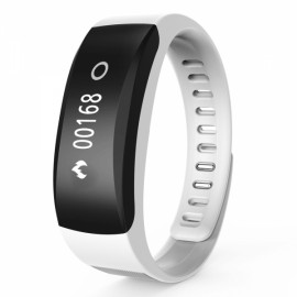 K8 Smart Heart Rate Monitor Fitness Tracker Sports Bracelet White