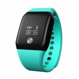 A88+ Bluetooth Smart Wristband Heart Rate Monitor Blood Oxygen Monitor Green