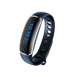 M4 Multifunctional Smart Waterproof Tracker Silicone Bracelet Wristband Blue