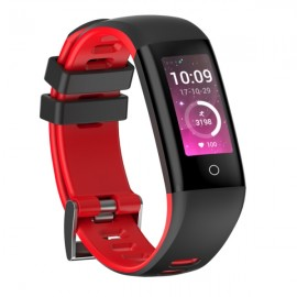 G16 Multi-locomotion Modes Waterproof Bluetooth 4.0 OLED Screen Smart Bracelet Red