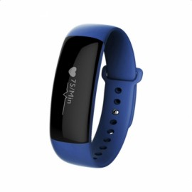 M88 Bluetooth 4.0 Waterproof and Dustproof IP67 Smart Bracelet Wristband Blue