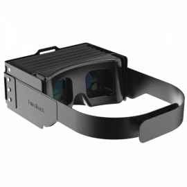 Focalmax DR1A Ultra Light Portable Foldable Accordion Scati VR Glasses for 4.5-6 inch Smartphones Black
