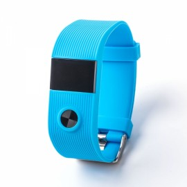 tw64s spo2 Multifunctional Waterproof Smart Wristband Blue