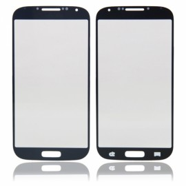 LCD Screen Glass Lens with Sense Line for Samsung S4 I9500 / 9505 / I337 / I545 Blue