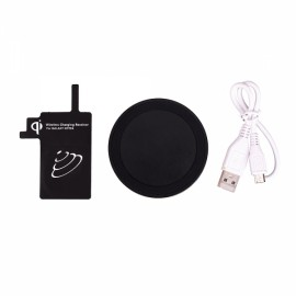 Qi Wireless Charger Pad Receiver & Transmitter Kit for Samsung Galaxy Note 4