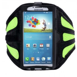 Running Gym Sport Mesh Armband Case for Samsung Galaxy S3/4/5/6/Edge Green