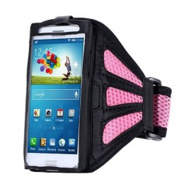 Running Gym Sport Mesh Armband Case for Samsung Galaxy S3/4/5/6/Edge Pink