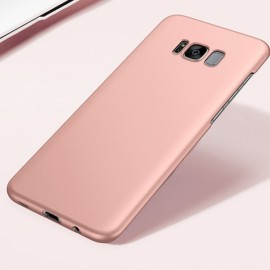 Ultra Thin Slim Silky Hard PC Back Case Cover for Samsung Galaxy S8 Rose Golden
