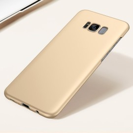 Anti Fingerprint Protective Back Case Thin Silky for Samsung Galaxy S8 Plus Golden