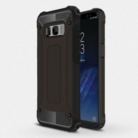 Armor Shockproof PC+TPU Double Protection Back Case For Samsung Galaxy 8 Black