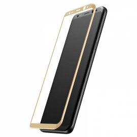 Baseus 3D Surface Explosion-Proof Screen Protector Front Protective Film for Samsung Galaxy S8 Plus Gold