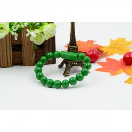 Colorful Acrylic Buddha Beads Bracelet Micro USB Cable for Samsung LG HTC Android  Smart Phones Green