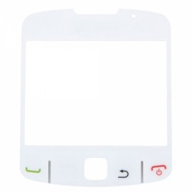 Replacement LCD Glass Lens for BlackBerry 8520 White
