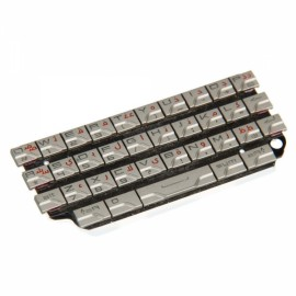 Original Mobile Phone Arabic Keypad for Blackberry 9981 Silver