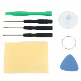 7pcs Professional Repairing Assembly Disassemble Tool Kit Cellphone Remover Black & Green & Blue