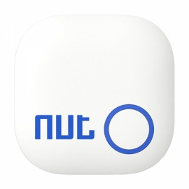 Nut 2 Bluetooth V4.0 Smart Chip Tracker Anti-lost Alarm Two-way Intelligent Patch Key Finder White