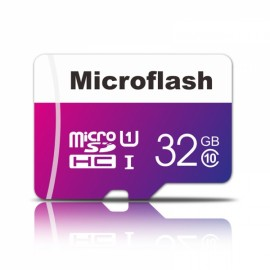 Microflash 32GB Class 10 Micro SD Card TF Card Cellphone Memory Card