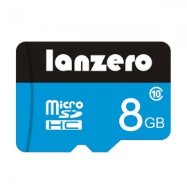 Lanzero 16GB High-speed Micro SDHC SD TF Card Memory Card Class 10 for Smartphone Tablet