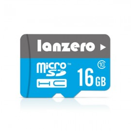 Lanzero 16GB High-speed Micro SDHC SD TF Card Memory Card Class 10