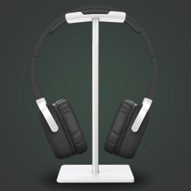 New Bee Lightweight Aluminum Stand for Bluetooth Headset White