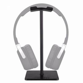 New Bee Lightweight Aluminum Stand for Bluetooth Headphones Black