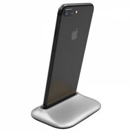 Baseus Desktop Charging Station Aluminum Alloy for iPhoneX 8/8 Plus iPhone 7/7 Plus iPhone 6/6S Plus 6 6S Silver