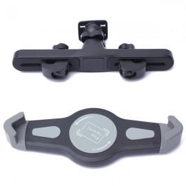 360 Degree Rotating Car Back Seat Headrest Mount Holder for Tablet Black