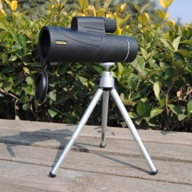 CEENDA 10X42 Monocular Telescope HD Optic Wide Angle Eyepiece Night Vision Lens w/ Tripod