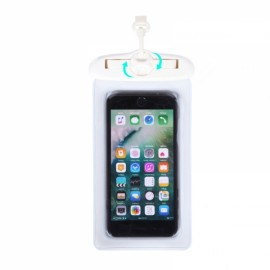 Tteoobl T-61H Multifunctional Sundries Waterproof Bag Large Volume Underwater Dry Pouch Case White