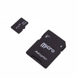 4G Micro SD Card High Capacity with SD Card Adapter