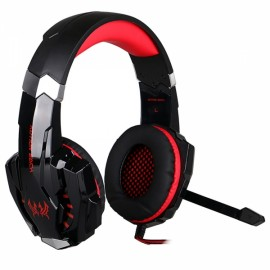 KOTION EACH G9000 3.5mm Stereo Gaming Headphone for PC Black & Red