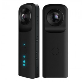 1400 mAh Hd Double Lens Handheld Whole Perspective VR Panorama Camera 720