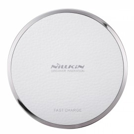 Nillkin Magic Disk III Qi Standard Wireless Charger for Samsung iPhone Huawei White