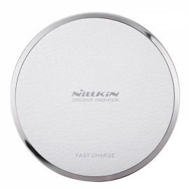 Nillkin Magic Disk III Qi Standard Wireless Charger for Samsung iPhone Huawei White