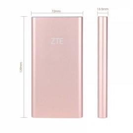Original ZTE Heysroad 10000mAh Dual USB Outputs Mobile Power Bank Rose Golden