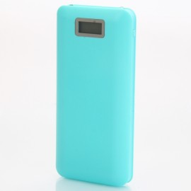 50000mAh Large Capacity 8-Section Cell Power Bank with Digital Display Blue