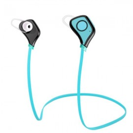 BS-5 Bluetooth 4.0 Wireless Stereo Sports Headset with Microphone Blue
