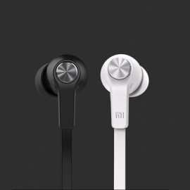 Original Xiaomi Youth Edition Piston 3.5mm Plug In-ear Earphone with MIC for Xiaomi / iPhone / iPad Black