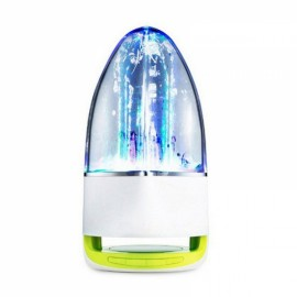 Cool Dancing Water Spray Lamp Bluetooth Stereo Colorful Lights Speaker Music Fountain Green