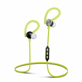Y622 Wireless Bluetooth 4.1 Earphone with Mic Sports Running Sweatproof Headset Green