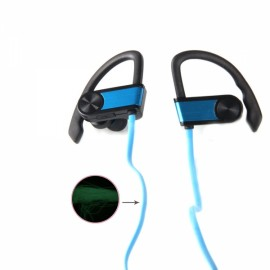 BH-1 New Music Smart Night Light Movement Bluetooth Headset Blue