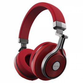 Bluedio T3 Wireless Bluetooth Headphone Headset with Microphone - Red