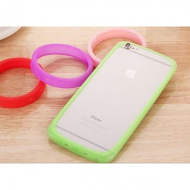 "Candy Color Round Universal Soft Bumper Case for Mobile Phone Above 6.0"" Random Color"