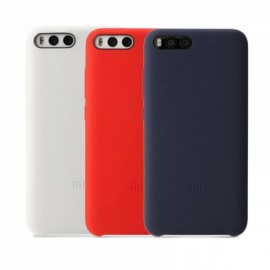 Xiaomi Mi 6 Phone Case Flexible Silicone Soft Mobile Cover Protector Red