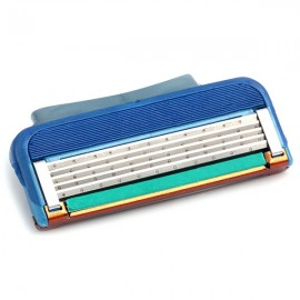 Five-layer Manual Operation Razor Blade Blue