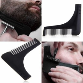 Beard Bro Beard Shaping Tool Sex Man Gentleman Beard Trim Template Black