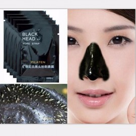 5pcs Pilaten Facial Black Mask Face Care Nose Acne Blackhead Remover Minerals Pore Cleanser